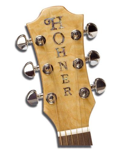 Головка грифа акустической гитары