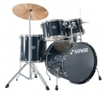 17200110 SMF 11 Studio Set WM 11229 Smart Force Барабанная установка, черная, Sonor