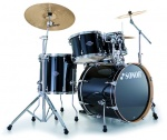 17210140 ESF 11 Studio Set WM 11234 Essential Force Барабанная установка, черная, Sonor